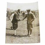 Abe Mitchell Being Congratulated at Gleneagles Tournament Graphic Photo Union Photo - Victor Forbin Collection