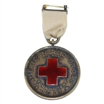 1917 American Red Cross Liberty Tournament Medal Won by E.K. Meg - Dwight, Ill. 7-4-1917