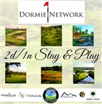 2 Day 1 Night Stay & Play Dormie Club Package - 6 Courses - $3k Value - Caddies For A Cause
