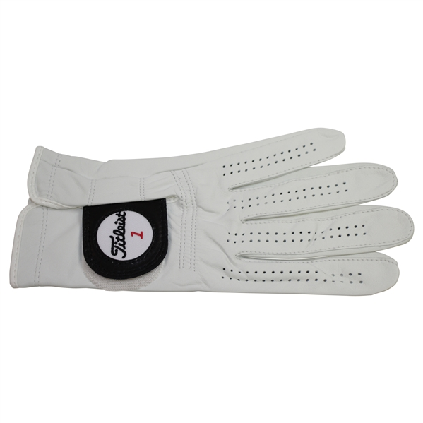 Bernhard Langer Signed Titleist Golf Glove - Unused JSA ALOA