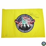 Bernhard Langer Signed Course Flown No Responders Left Behind Flag JSA ALOA