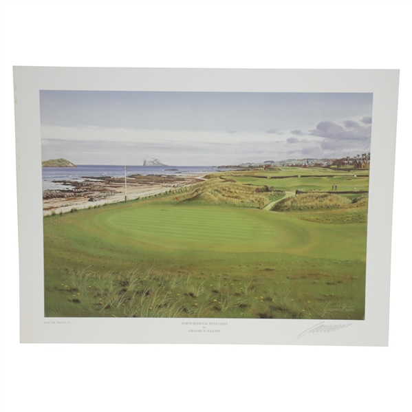 North Berwick, West Links Print Signed by Artist Graeme Baxter