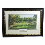 Atlanta Athletic Club Highland Course #15 Print #102/850 Signed by Artist Steve Lotus with 2001 PGA