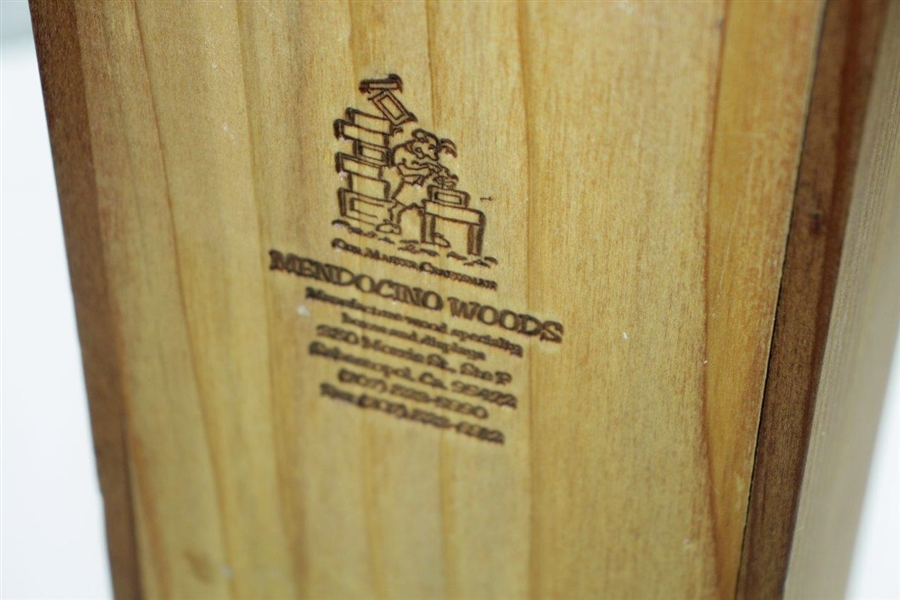 1999 Ryder Cup at Brookline Special Ltd Gifted Wine with Box by Ben & Julie Crenshaw