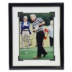 "Arnold Palmer Signed & Inscribed ""Congratulations on #325"" Photo to NFL Great Don Shula JSA ALOA"
