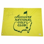 Tiger Woods Signed Augusta National Golf Club Embroidered Member Flag JSA FULL #Z04348