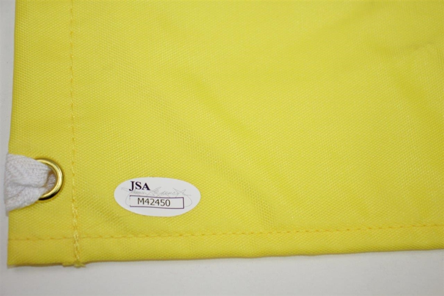 Mark O'Meara Signed 2014 Masters Embroidered Flag with '1998' JSA #M42450