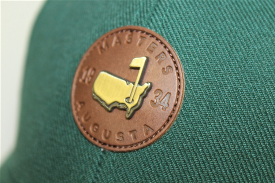 Masters 1934 Commemorative Green Structure - Leather Masters Circle Patch