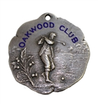 1916 Oakwood Club Junior Championship Sterling Silver Runner-Up Medal Won by Jack Roheimer
