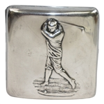 1901-02 Upper India Golf Challenge Shield Sterling Silver Cig. Holder Runner-Up Prize