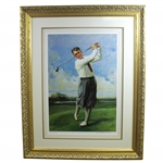 Bobby Jones Artists Proof Print Signed by Artist Everett Raymond Kinstler - Deluxe Framed