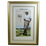 Ben Hogan Year of the Triple Crown - The Final Leg Artists Proof #49/125 by Douglas B London