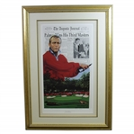 Arnold Palmer Kings Third Assault at Augusta Ltd Ed Print #36/1250 by Douglas B London