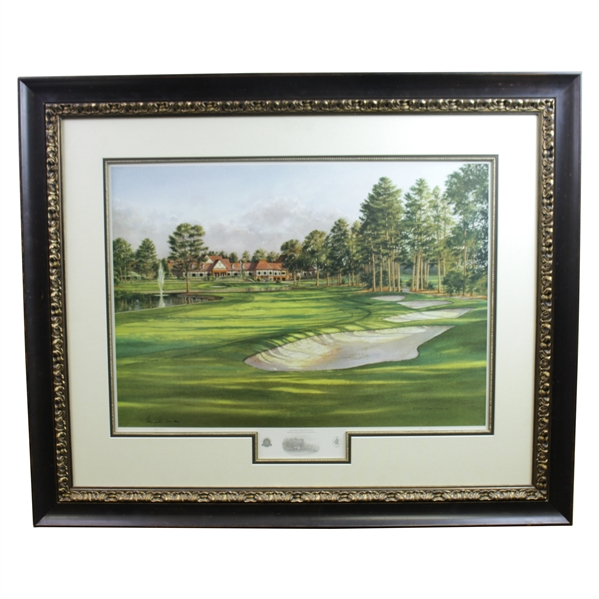Atlanta Athletic Club Highland Course #18 Print #106/850 Signed by Artist Steve Lotus with '2001' PGA