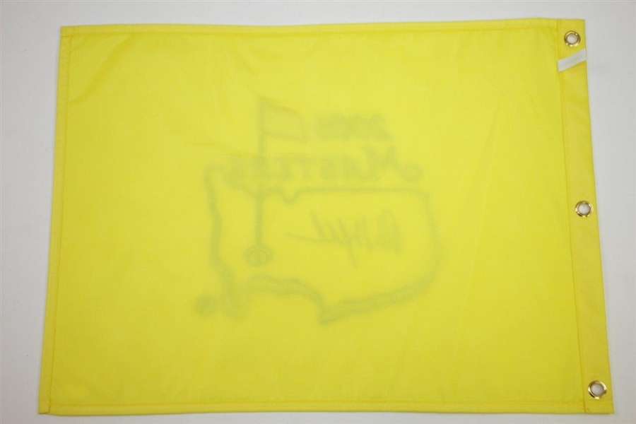 Phil Mickelson Signed 2006 Masters Embroidered Flag JSA FULL #BB28143