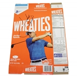 Jordan Spieth Signed Wheaties Box with Full Signature JSA FULL #Z70880