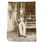 Old Tom Morris with Championship Belt Type 3 Photo - Arthur Uelyett Photographer - Victor Forbin Collection