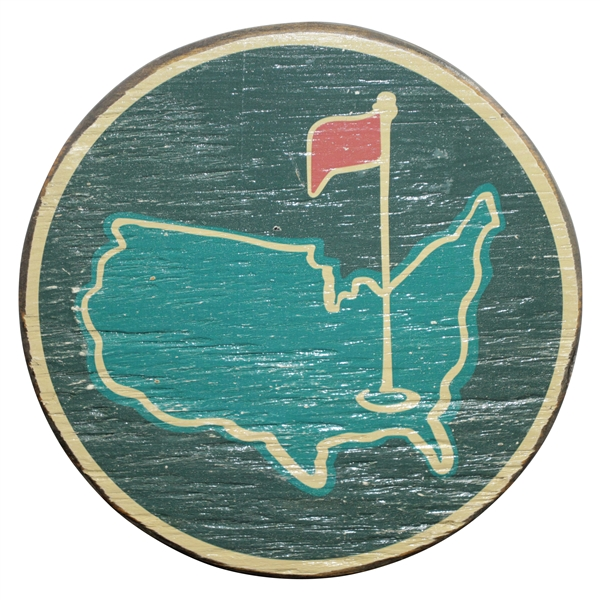 Augusta National Golf Club Wooden Logo Sign - from Berckmans Place