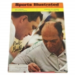 Bob Goalby & Roberto de Vicenzo Dual Signed 4/22/1968 Sports Illustrated JSA #L41484