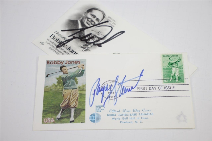 1999 Ryder Cup at Brookline Individual Team Member Signed Cachets JSA FULL #X88289