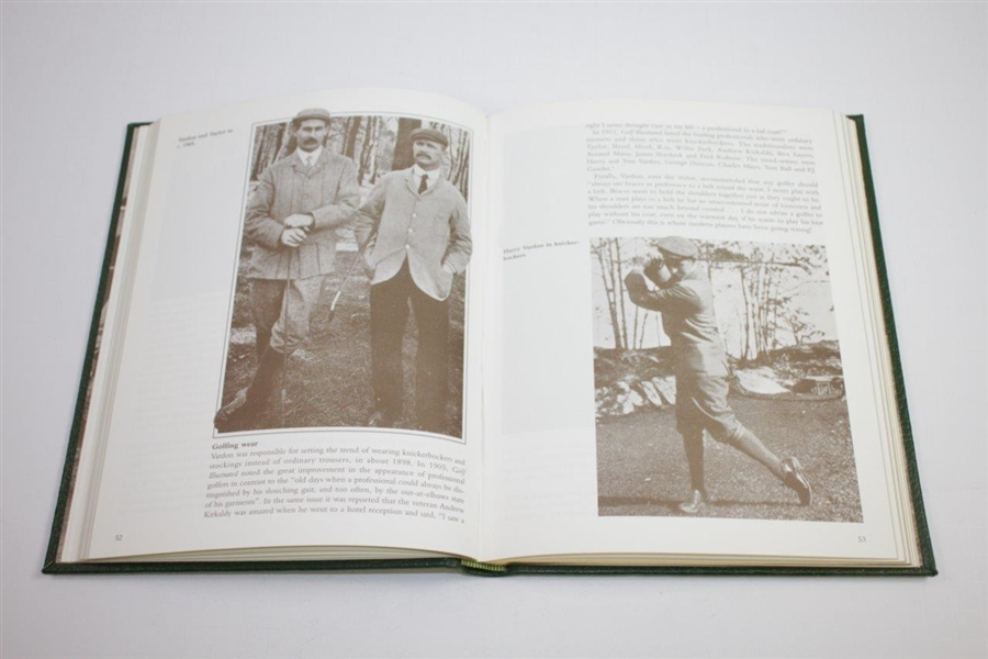 1995 'The Dawn of Professional Golf' Ltd Ed 35/150 Signed by Author Peter Lewis