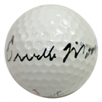 Orville Moody Signed Titleist Logo Golf Ball JSA ALOA
