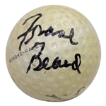 Frank Beard Signed Frank Beard Model Golf Ball JSA ALOA