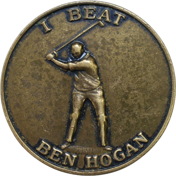 'I Beat Ben Hogan' Boy Scouts of America Medal - Sports That Lasts A Lifetime