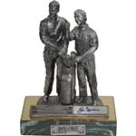 "Jack Nicklaus Signed ""The Legend Lives"" Ltd Ed 20 Majors Statue by Artist Ricker JSA ALOA"
