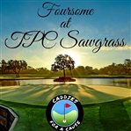 Foursome Golf Round at TPC Sawgrass - Caddies For A Cause