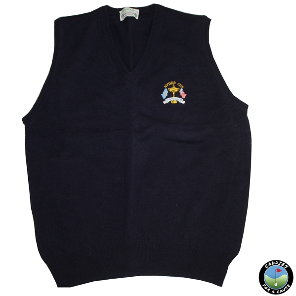 1991 Ryder Cup at Kiawah Island European Team Sweatervest