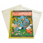 1950 PGA Championship at Scioto CC Program- Chandler Harper - Rod Munday Collection