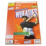 Tiger Woods Signed Wheaties Our Newest Champion Ltd Ed Inaugural Box JSA FULL #BB46566