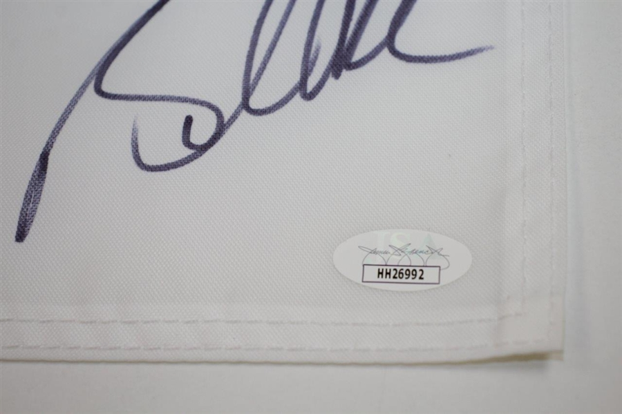 Brooks Koepka Signed 2020 PGA Championship at Harding Park Embroidered Flag JSA #HH26992