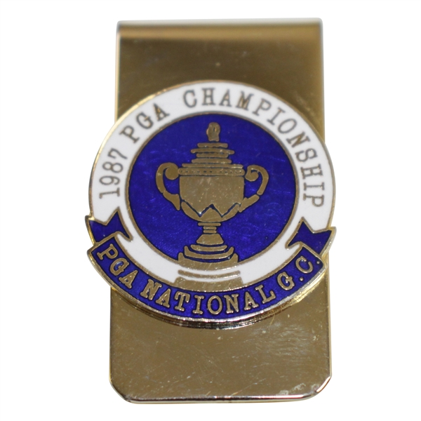 1987 PGA Championship at PGA National GC Money Clip - Larry Nelson Winner