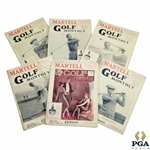 1925 & 1926 The Golf Monthly (Golf Monthly) Magazines - Six (6)