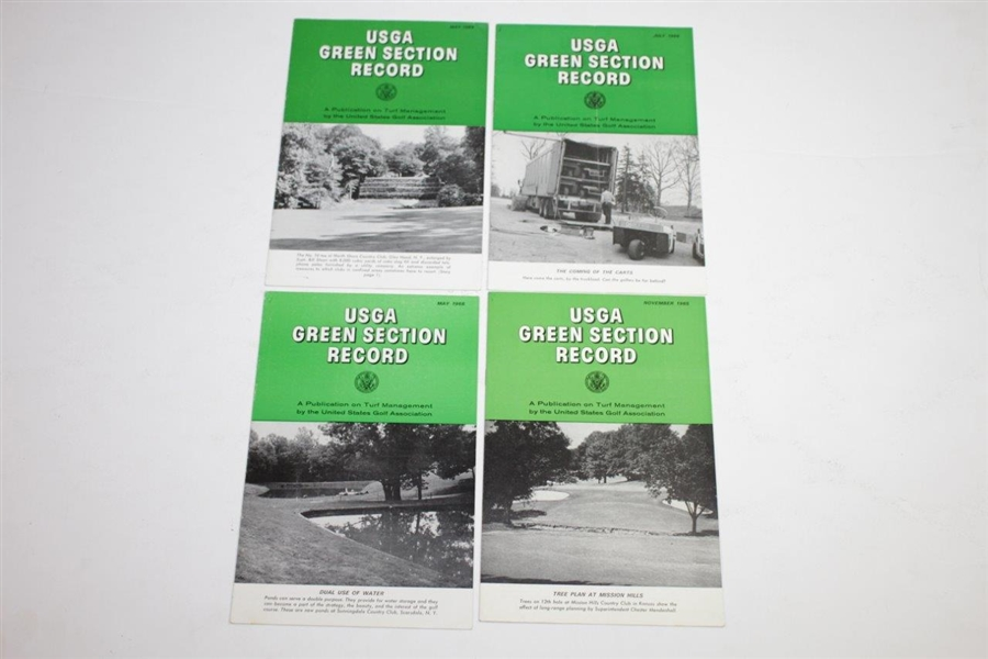 1964-1968 USGA Green Section Records Golf Magazines - Thirty (30)