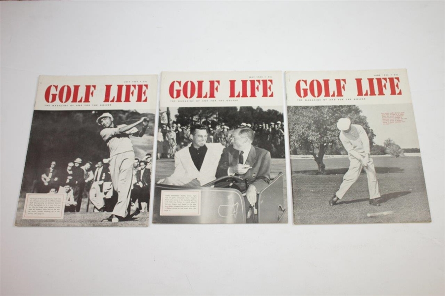 1953 & 1954 'Golf Life' Golf Magazines - Twenty-Four (24)