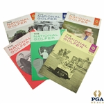 1967 The National Golfer Golf Magazines - Six (6)
