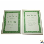 1934 & 1937 The Journal of The Board of Greenkeeping Research Golf Magazines