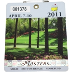2011 Masters Tournament Series Badge #Q01378 - Charl Schwartzel Winner