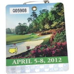 2012 Masters Tournament Series Badge #Q05908 - Bubba Watson Winner