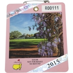 2015 Masters Tournament Series Badge #R00111 - Jordan Spieth Winner