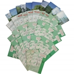 1971-2008 Masters Tournament Spectator Guides - Thirty-Eight (38)