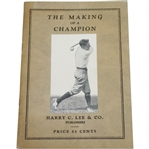 1928 The Making of a Champion Booklet by H.B. Martin - Harry C. Lee & Co. Publishers