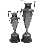 1937 & 1938 Greenskeepers Club of New England Championship Trophies Won by Ralph Thomas