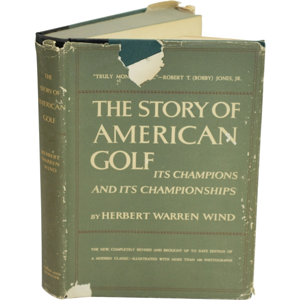 1956 'The Story of American Golf: Its Champions & Its Championships' by Herbert Warren Wind Sourced From Bert Yancey