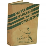 1932 Great Golfers in the Making Book by H.B. Martin Sourced From Bert Yancey