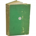 1937 Bedrock Principles of Golf Book by W.W. Lowe Sourced From Bert Yancey