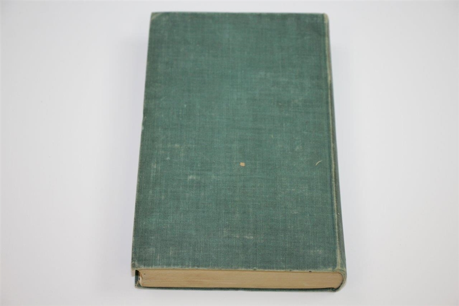 1937 'The Golfer's Companion' Book Edited by Peter Lawless Sourced From Bert Yancey